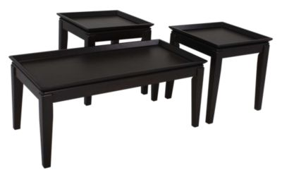 Ashley Delormy Coffee Table & 2 End Tables