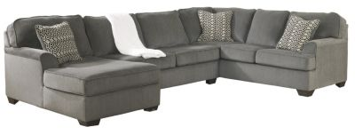 Ashley Loric Left-Side Chaise 3-Piece Sectional