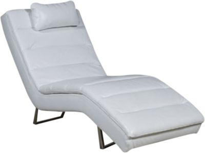 Ashley Goslar White Chaise
