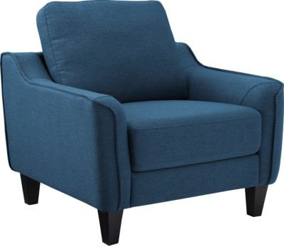 Ashley Jarreau Blue Chair