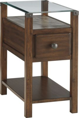 Ashley Diamenton Chairside Table with Power Supply