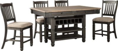 Ashley Tyler Creek 5-Piece Counter Dining Set