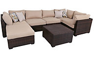 Ashley Spring Ridge Outdoor 7-Piece Sectional