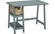 Ashley Mirimyn Teal Desk