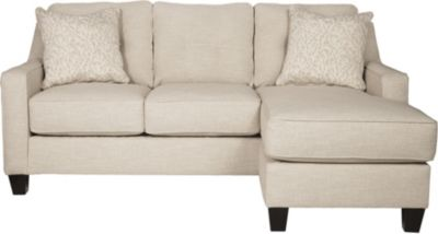 Ashley Aldie Nuvella Sand Sofa Chaise