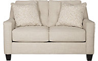 Ashley Aldie Nuvella Sand Loveseat