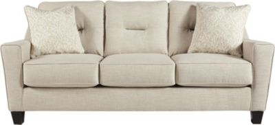 Ashley Forsan Nuvella Sand Sofa