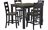 Ashley Froshburg 5-Piece Counter Dining Set