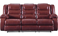 Ashley Vacherie Salsa Reclining Sofa
