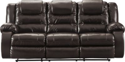 Ashley Vacherie Brown Reclining Sofa