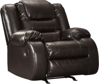 Ashley Vacherie Brown Rocker Recliner