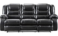 Ashley Vacherie Black Reclining Sofa