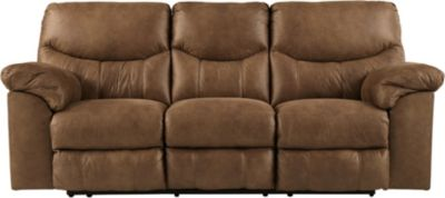 Ashley Boxberg Brown Reclining Sofa