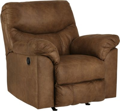 Ashley Boxberg Brown Rocker Recliner