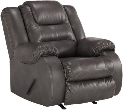 Ashley Walgast Gray Rocker Recliner