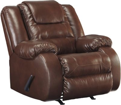 Ashley Walgast Brown Rocker Recliner