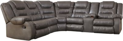 Ashley Walgast Gray 2-Piece Reclining Sectional