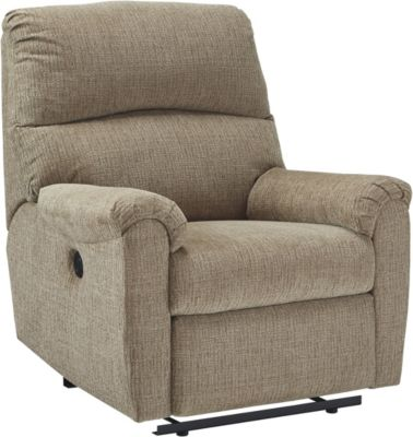 Ashley McTeer Tan Power Recliner