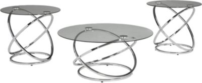 Ashley Hollynyx Coffee Table & 2 End Tables