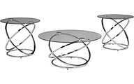 Ashley Hollynyx Collection Coffee Table & 2 End Tables