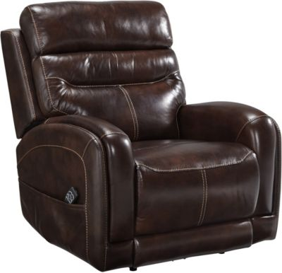 Ashley Allor Leather Power Recliner