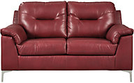 Ashley Tensas Crimson Loveseat