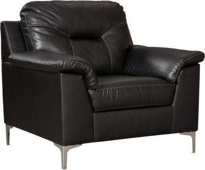 Ashley Tensas Black Chair