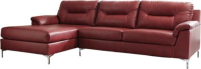 Ashley Tensas Crimson 2-Piece Sectional