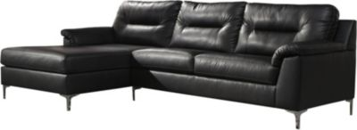 Ashley Tensas Black 2-Piece Sectional