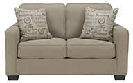 Ashley Alenya Quartz Loveseat