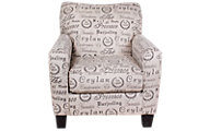 Ashley Alenya Collection Quartz Chair