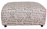 Ashley Alenya Quartz Oversized Accent Ottoman