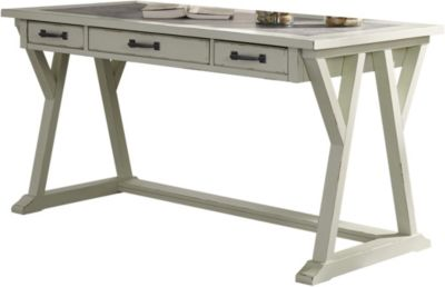 Ashley Jonileene White Writing Desk