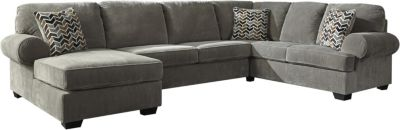 Ashley Jinllingsly Gray 3-Piece Sectional