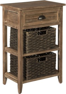 Ashley Oslember Storage Accent Table with Baskets