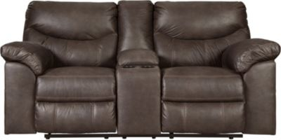 Ashley Boxberg Reclining Console Loveseat