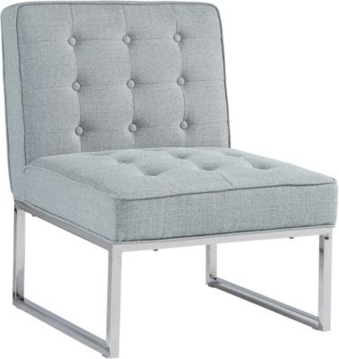 Ashley Cimarosse Gray Armless Accent Chair
