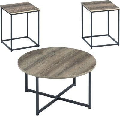 Ashley Wadeworth Coffee Table & 2 End Tables