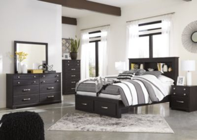 Ashley Reylow 4-Piece Storage Queen Bedroom Set