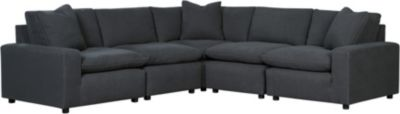 Ashley Savesto Charcoal 5-Piece Sectional