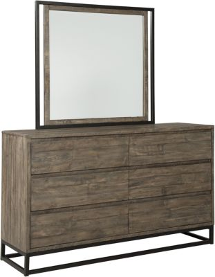 Ashley Cazentine Dresser with Mirror