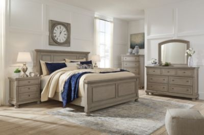 Ashley Lettner 4-Piece Queen Panel Bedroom Set