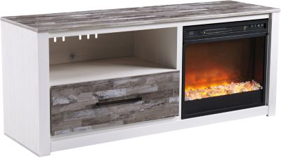 Ashley Evanni TV Stand with Fireplace