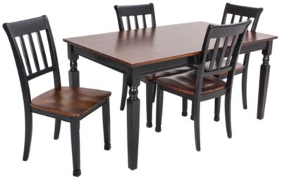 Ashley Owingsville 5 Piece Dining Set