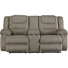 Ashley McCade Reclining Loveseat with Console