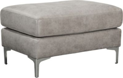 Ashley Ryler Collection Steel Ottoman