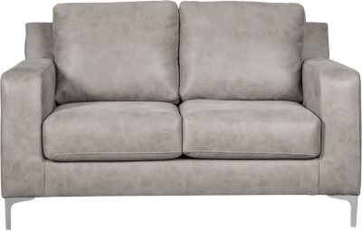 Ashley Ryler Collection Steel Loveseat