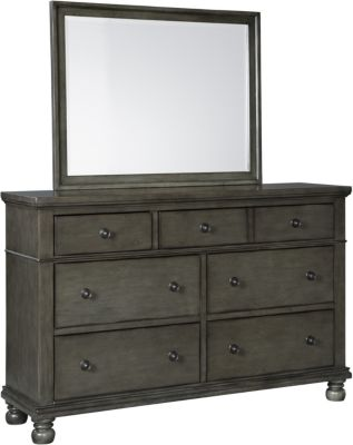 Ashley Devensted Dresser with Mirror