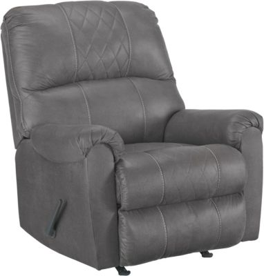 Ashley Narzole Dark Gray Rocker Recliner