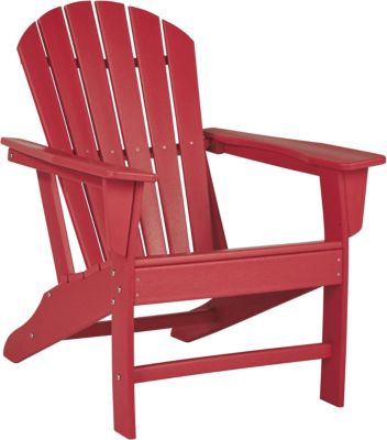 Ashley Sundown Treasure Red Adirondack Chair